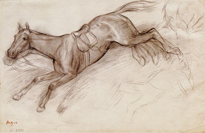 800x520 Drawing At Duke Edgar Degas By Haley Amster