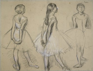 380x292 Degas Drawings And Sketchbooks' Review Drawings Show His