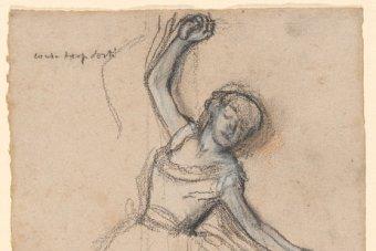 340x227 Olley Donates Degas Drawing