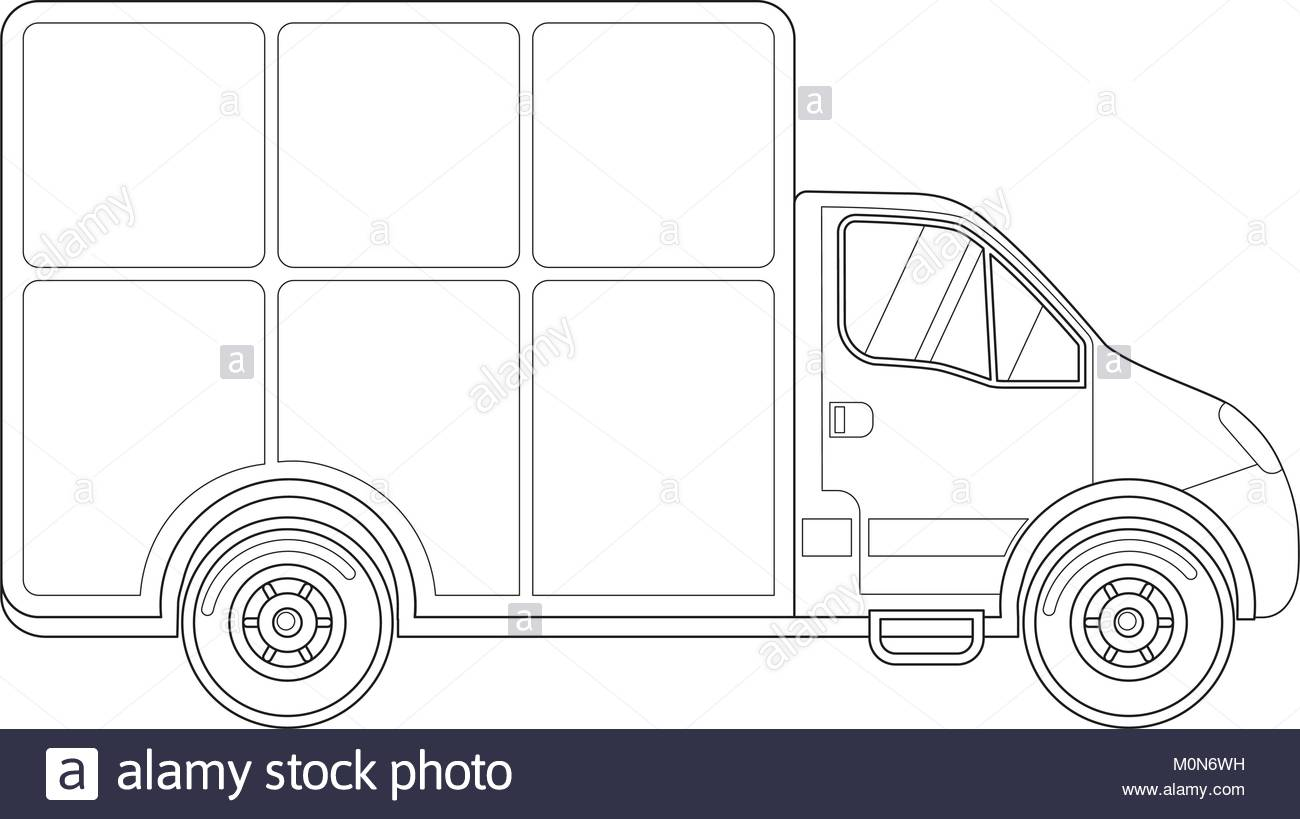 1300x819 Delivery Truck Side View Stock Photos Amp Delivery Truck Side View