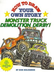 210x277 How To Draw Your Own Story Monster Truck Demolition Derby, Don