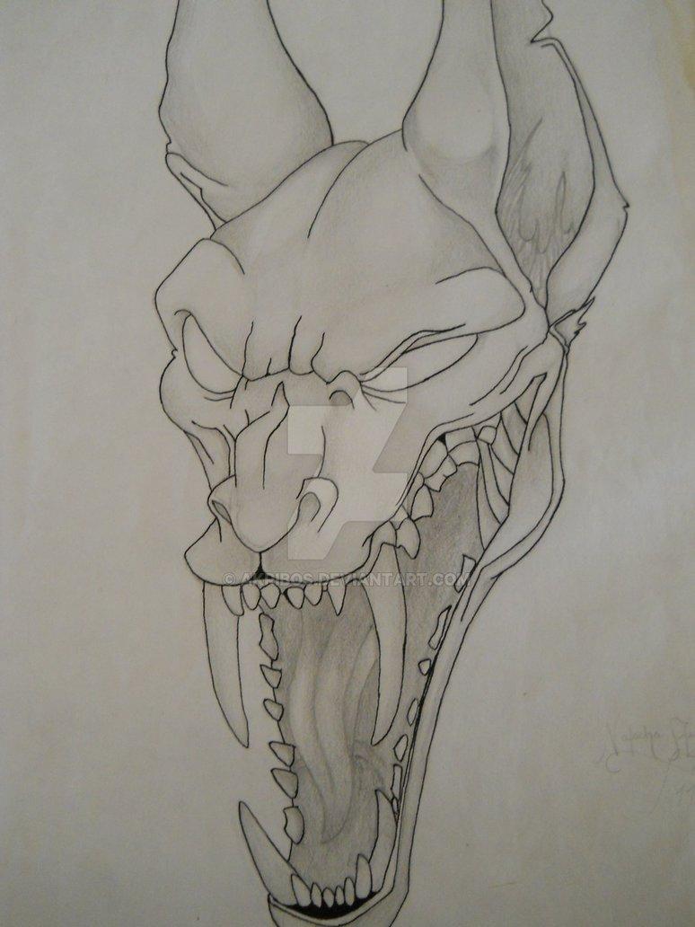 774x1032 Demon Dog By Akribos