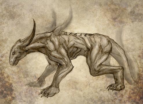 494x361 Demon Dog By Courtneysandderson