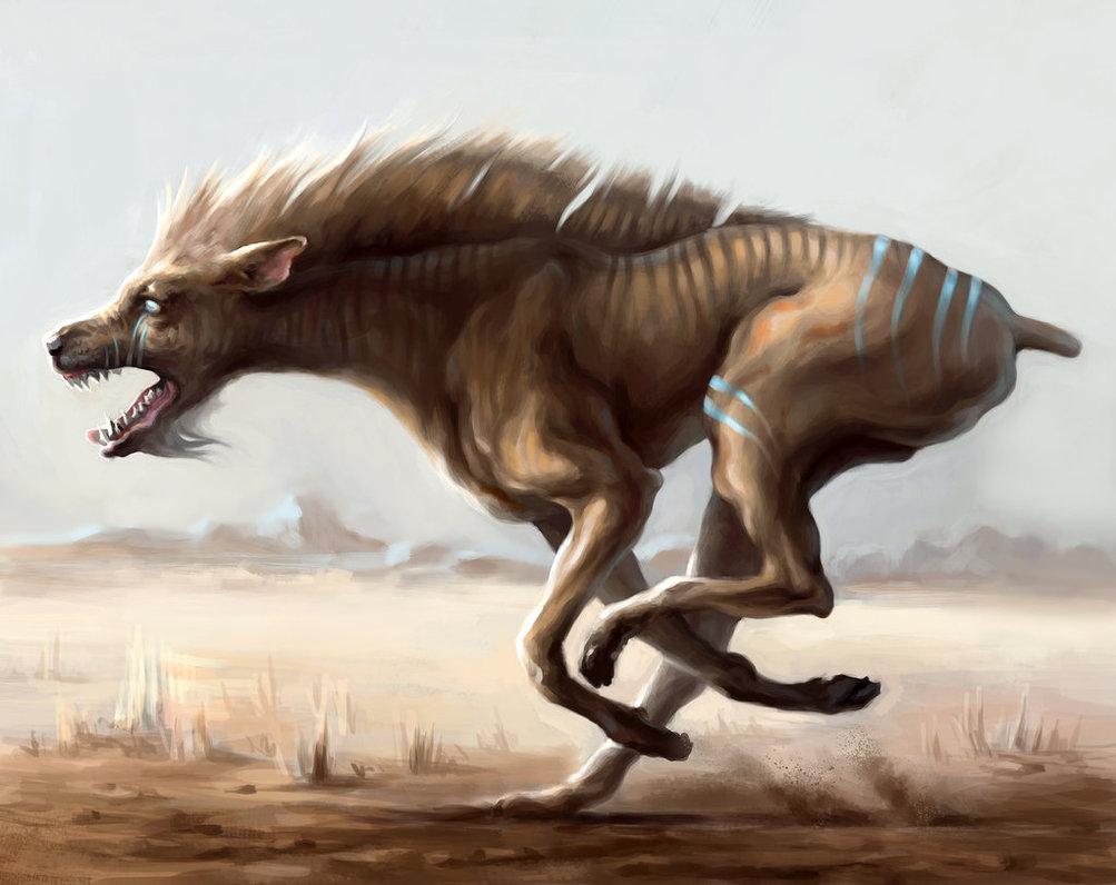 1003x796 Demon Dog By Mewannalearn