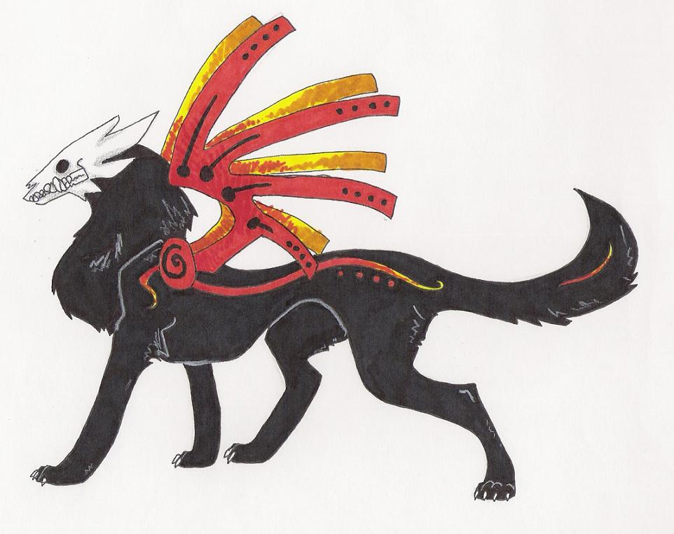 962x763 dog demon by charpal on deviantart