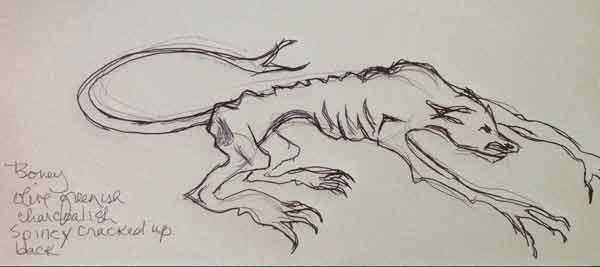 600x267 Image Result For Demon Dog Drawing Demons And Devils Mood Board