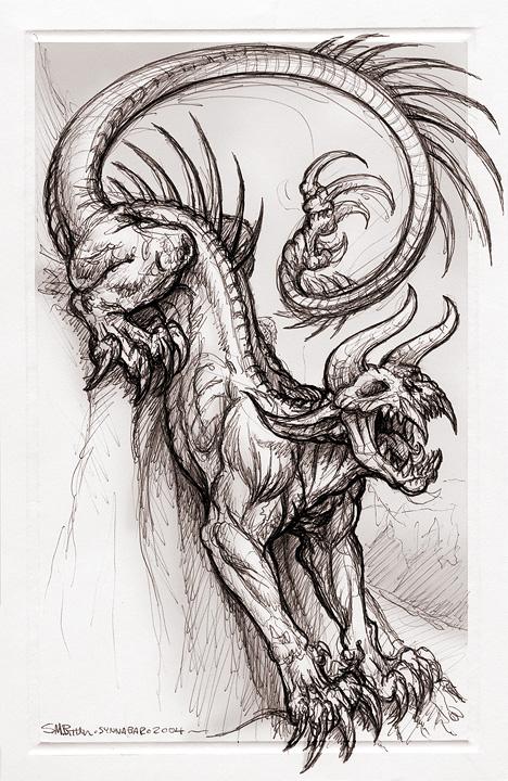 468x720 Lean Demon By Synnabar