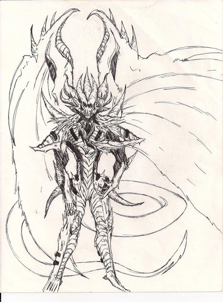 769x1039 Chaos Red Demon's Dragon