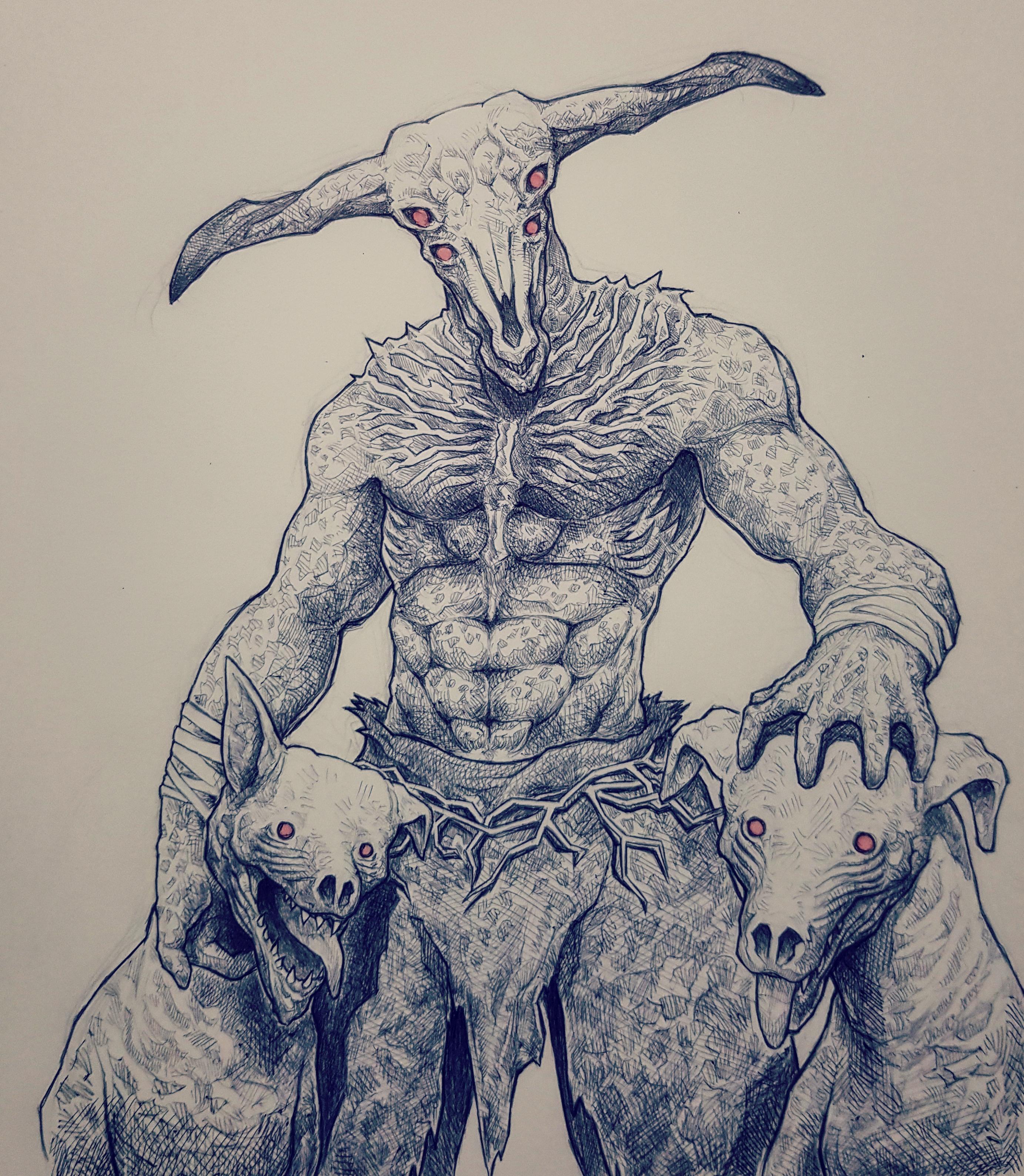 2766x3179 Capra Demon