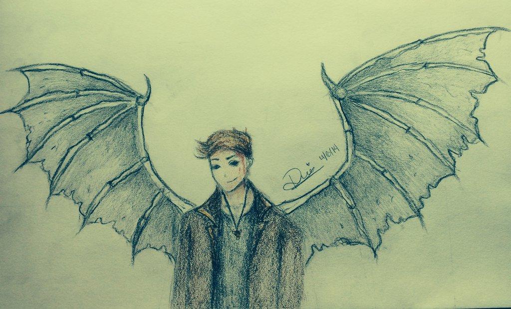 1024x620 Demon Dean (Drawing By Ruu) By Ruu123