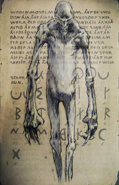 400x618 Evil Demons Drawings