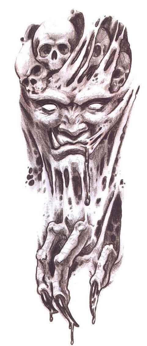 481x1128 Demon Tattoo Images Amp Designs