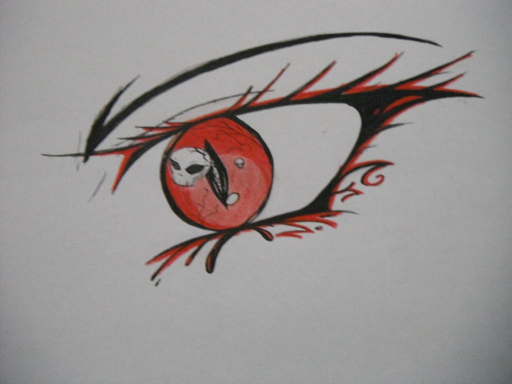 1024x768 Demon Eye By Sianna Miku On DeviantArt