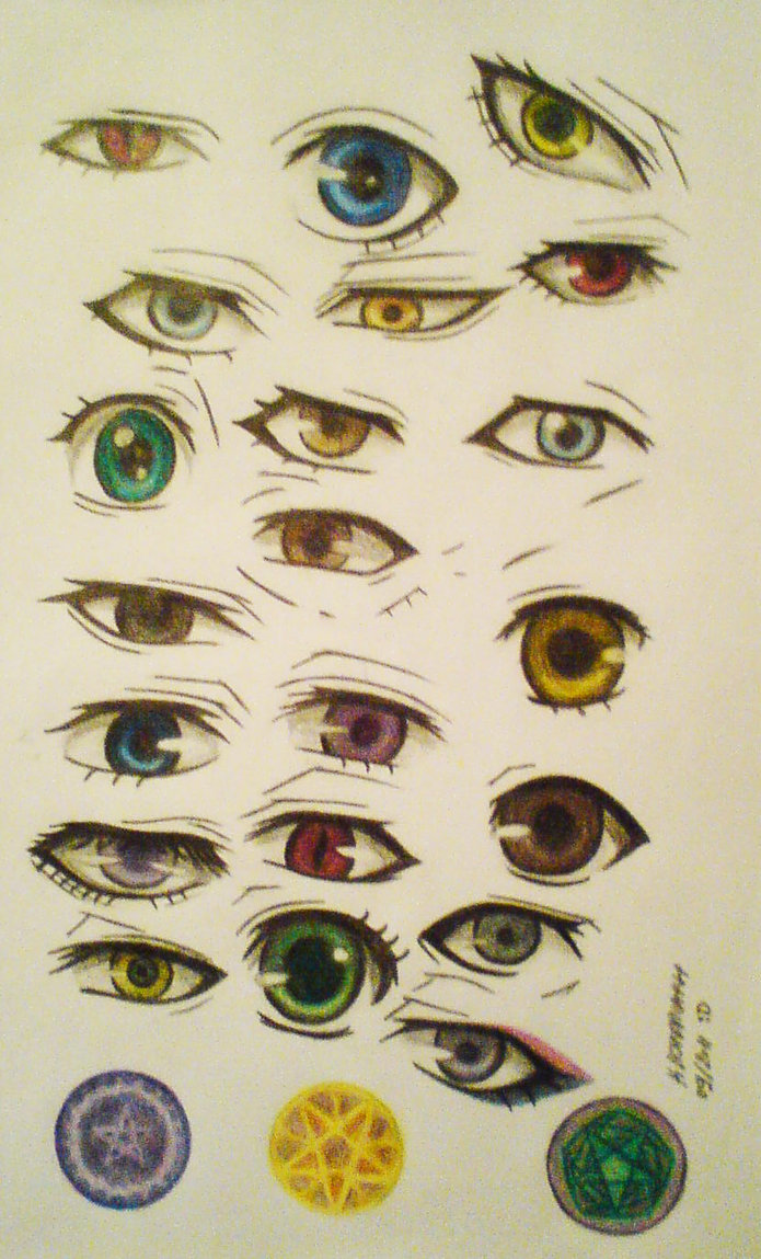 695x1149 Ksj Eyes Colored Pencil Drawing And Coloring By Mistressofdecay