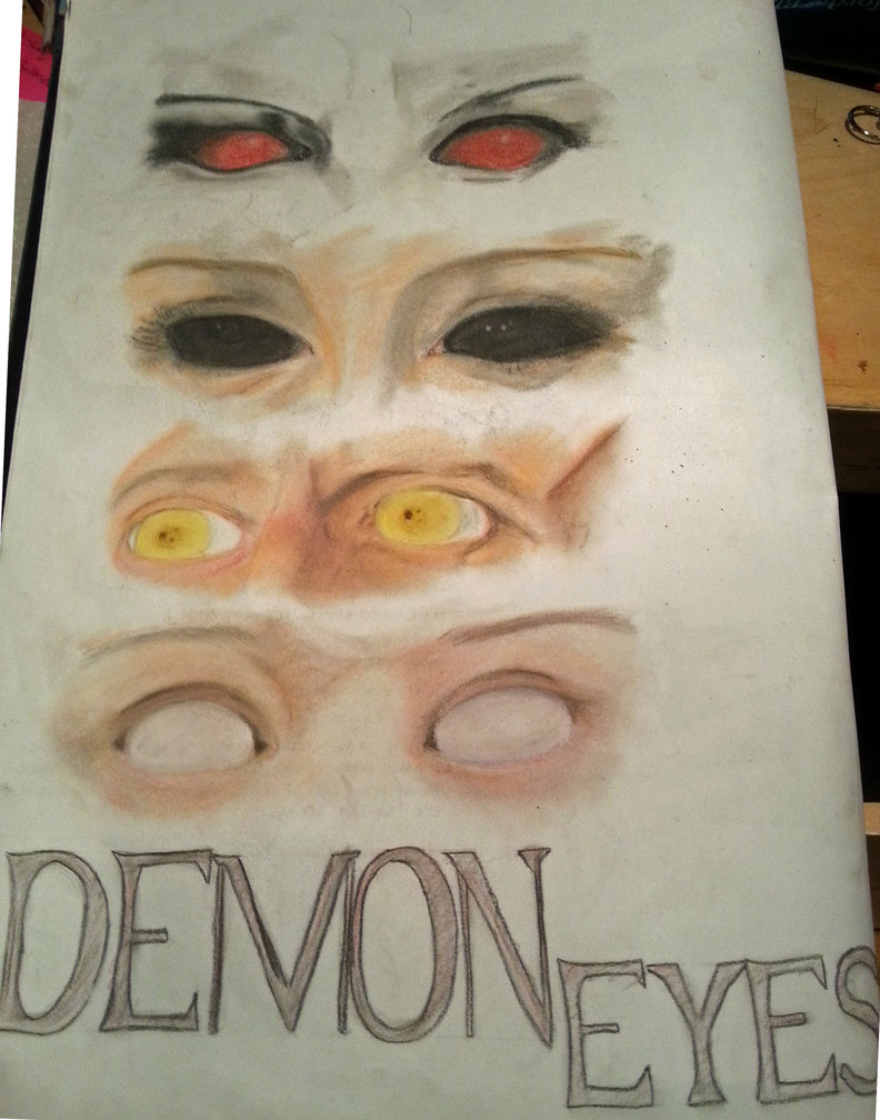 792x1008 The Demon Eyes Of Supernatural By Themightyezbot