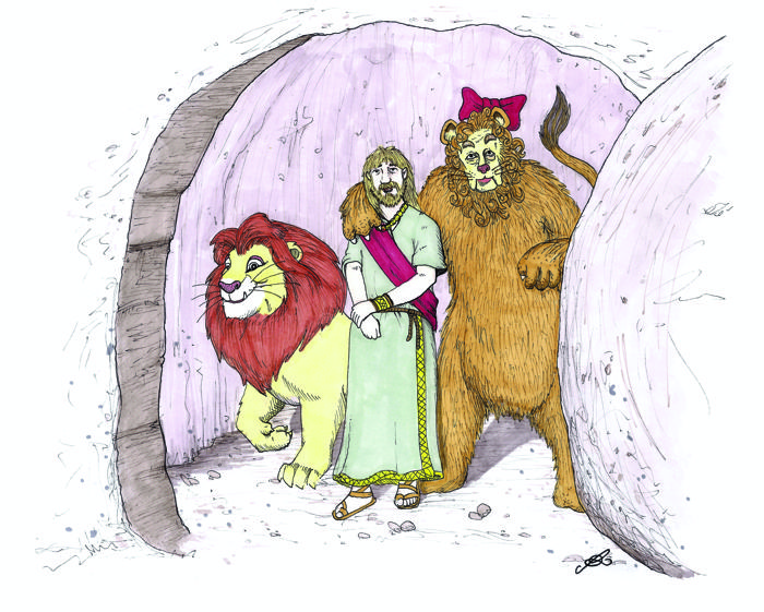 700x561 Drawing Bible Verses Daniel In The Lion's Den Daniel 6 The Art