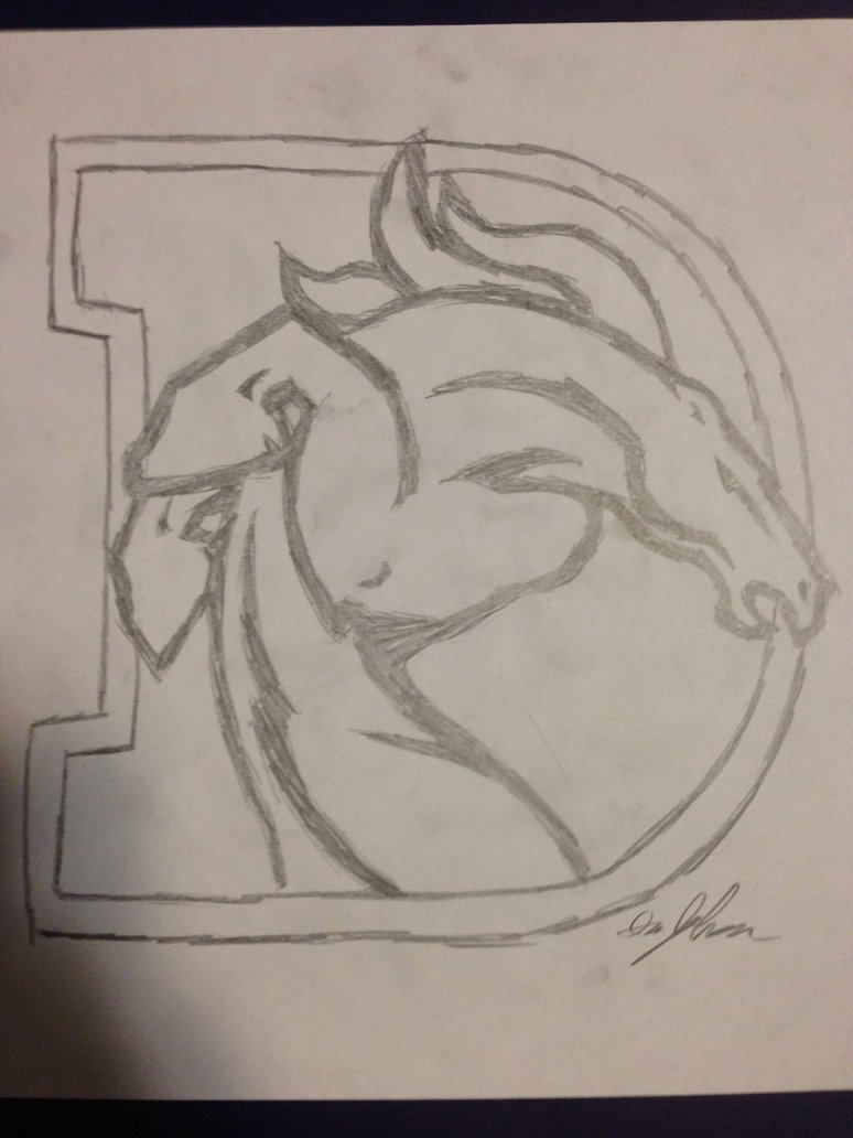 774x1032 New Denver Broncos Logo By Icjohnson97