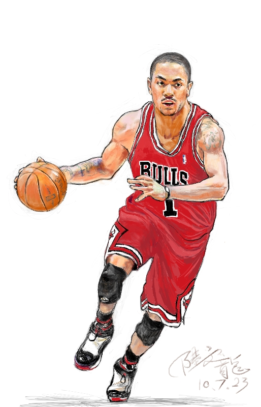 514x800 Derrick Rose Will Always Be Chicago Bulls