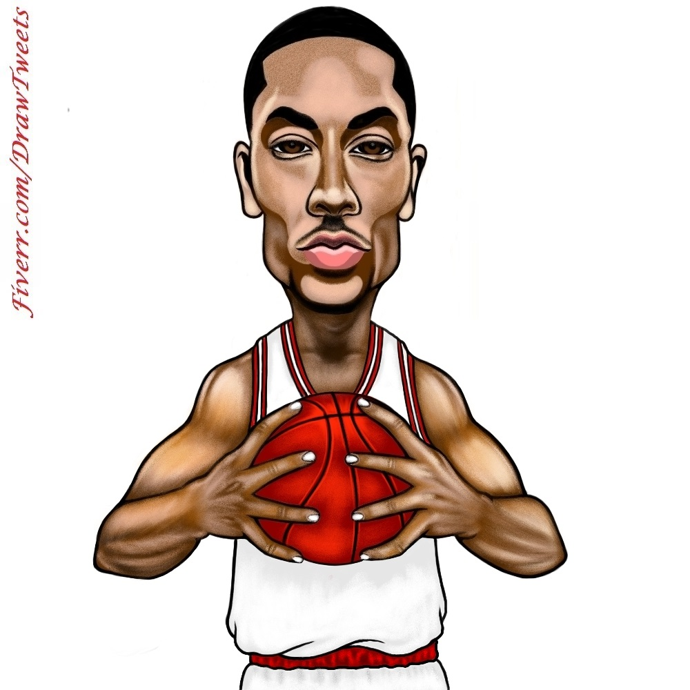 1000x1000 Derrick Rose Is On The Go
