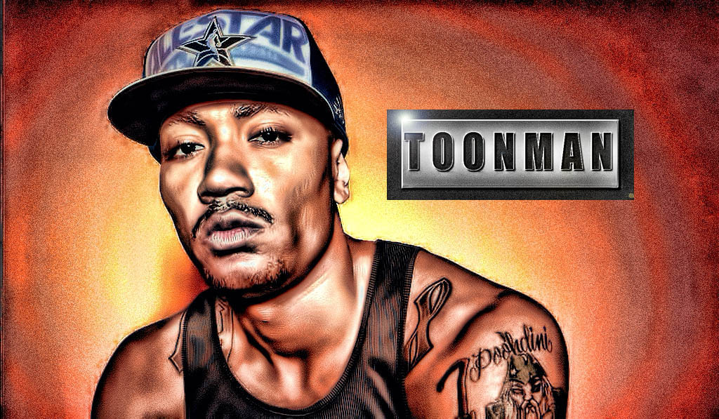 1024x597 Derrick Rose Portrait Drawing Photo By Toonman85