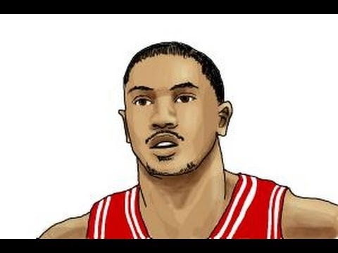 480x360 How To Draw Derrick Rose