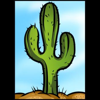 350x350 How To Draw How To Draw A Saguaro Cactus