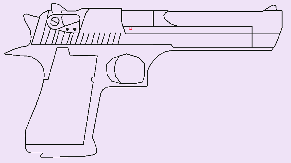 960x540 Desert Eagle (No Color) Stick Nodes