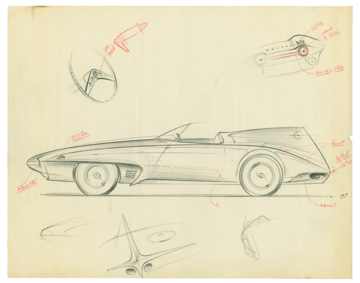 1161x913 1960 Plymouth Xnr (Ghia)