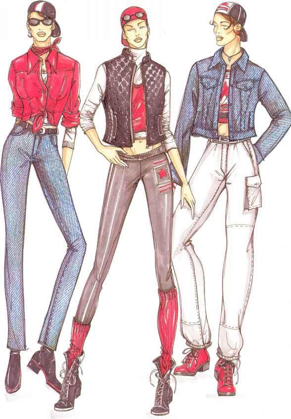 588x848 Fashion Design
