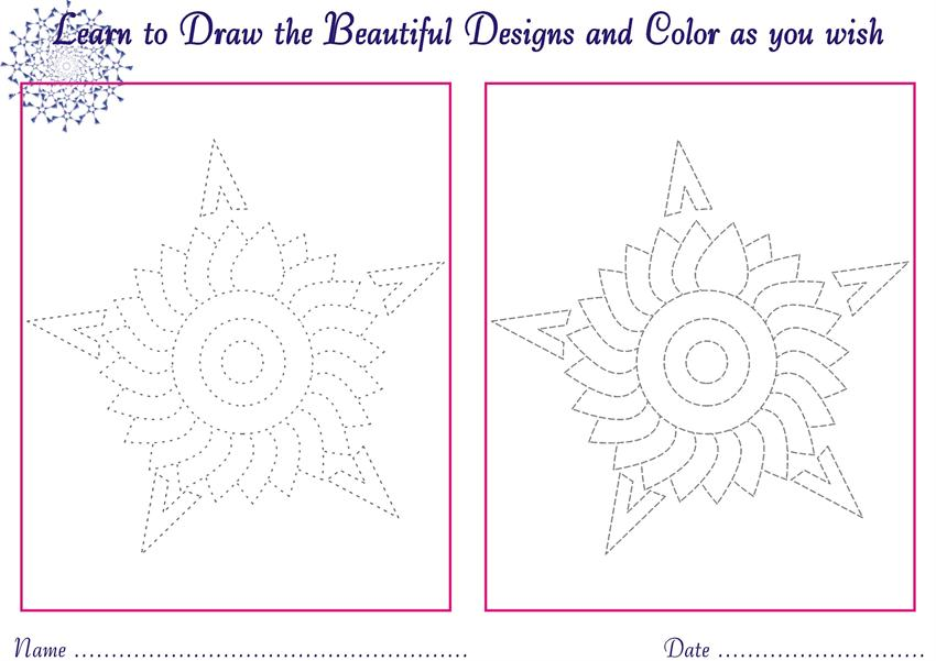 850x601 Designs To Draw For Kids