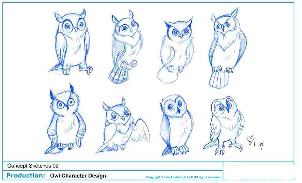 988x600 Image For Step For Drawing Sketch Great Horned Owl