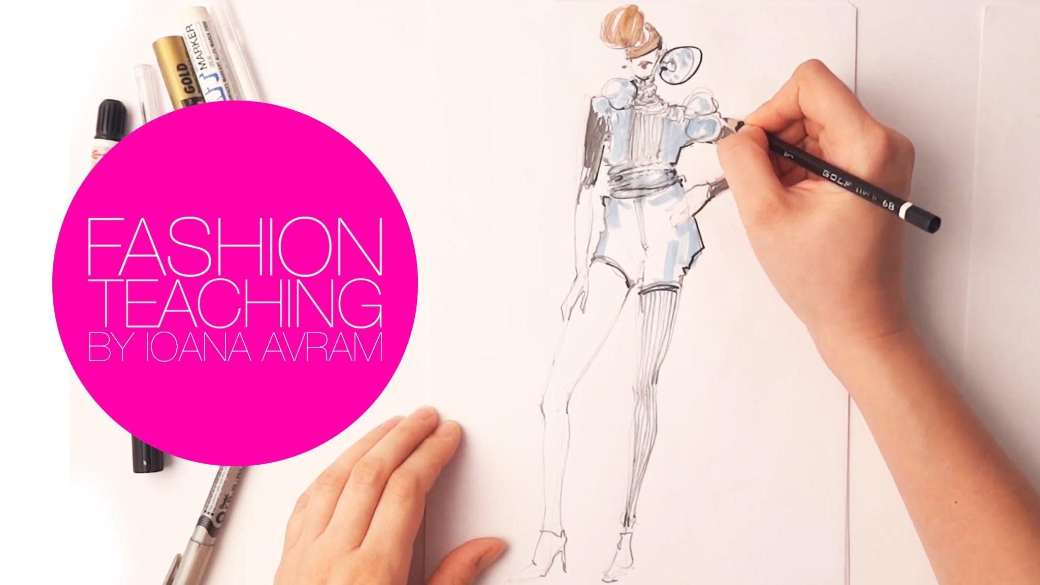 Fashion Fashion Designer Drawing Easy