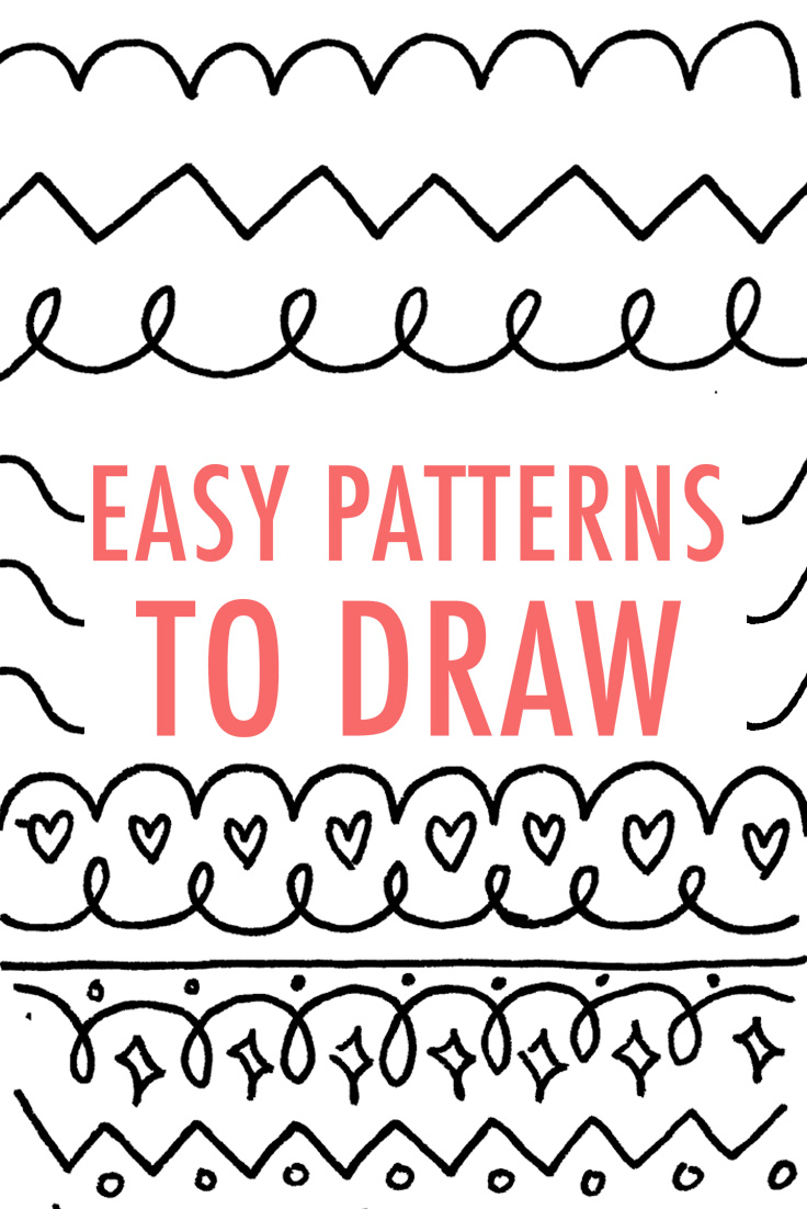 736x1102 Easy Patterns To Draw Design Your Own Pattern