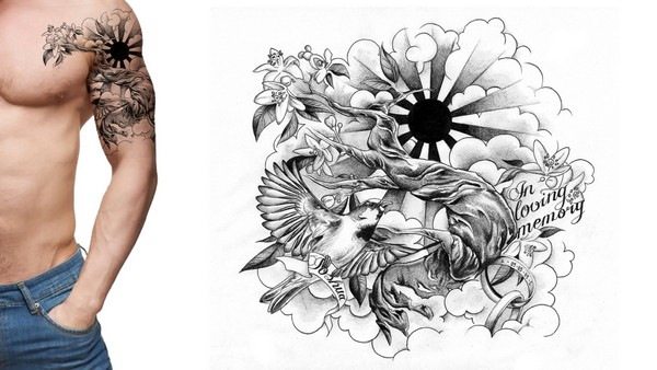600x338 72 Best Tattoo Design Drawings [2018]