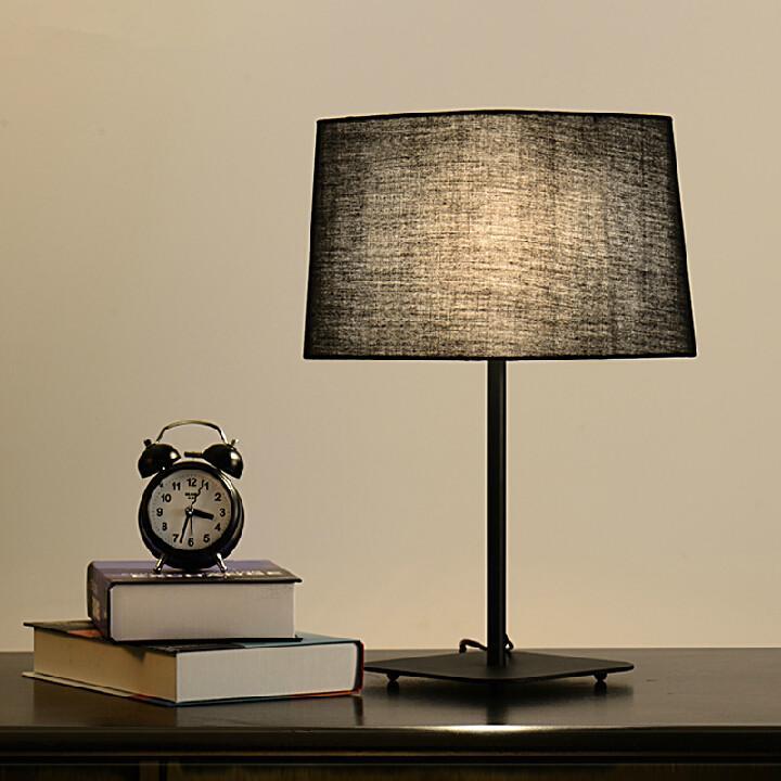 720x720 Discount Modern Creative Desk Lamps Cloth Art Table Lamp Black