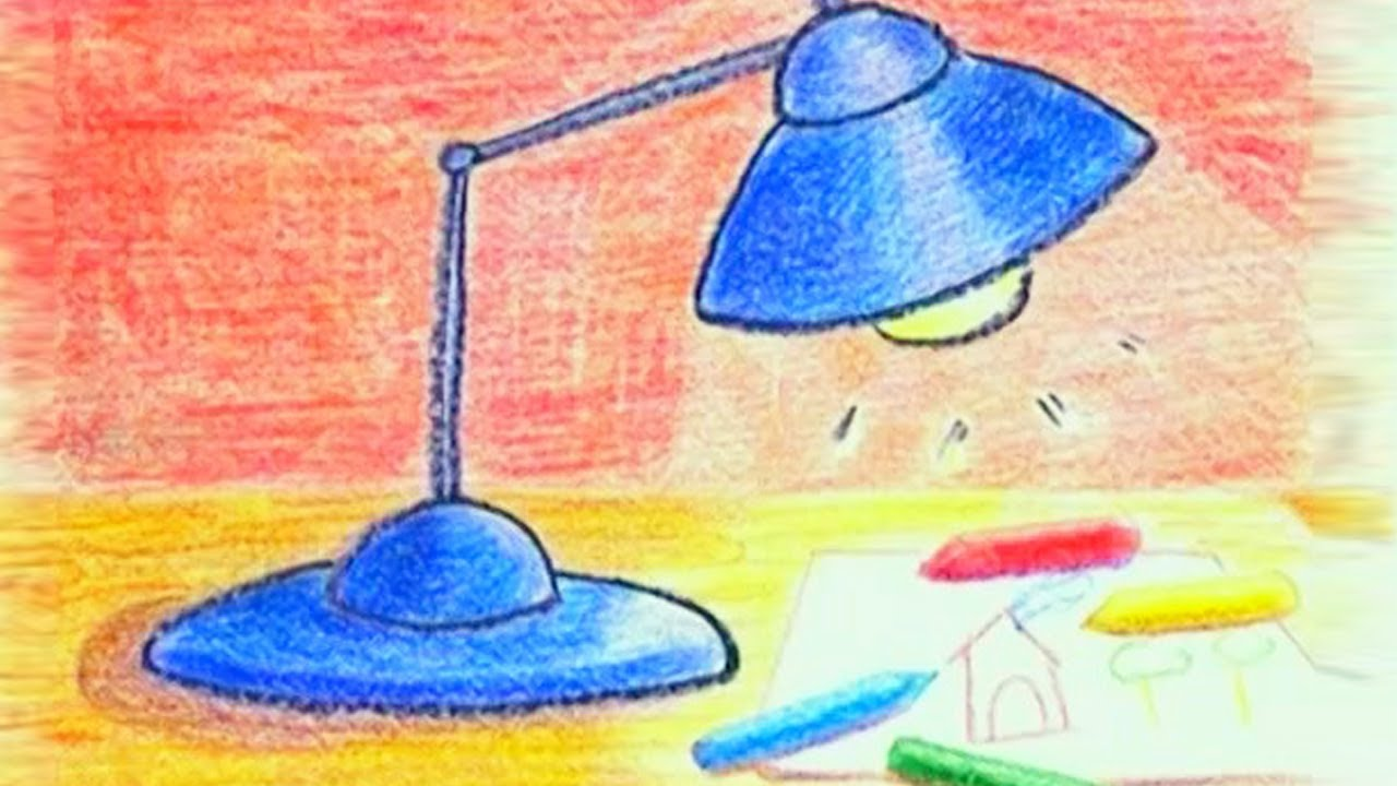 1280x720 Learn How To Draw A Table Lamp
