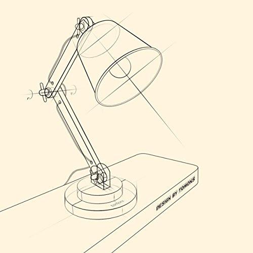 500x500 Tomons Natural Wood Desk Lamp, Vintage Table Lamp For Bedside