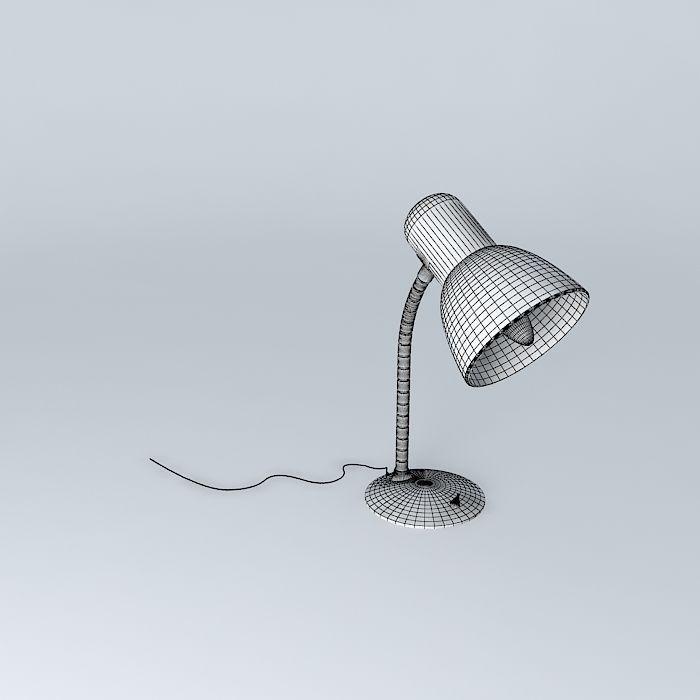 700x700 Light Desk Lamp 3d Cgtrader