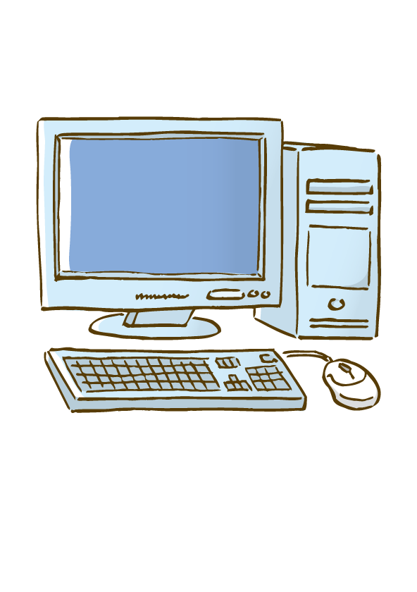 592x840 Computer Mouse Drawing Clip Art