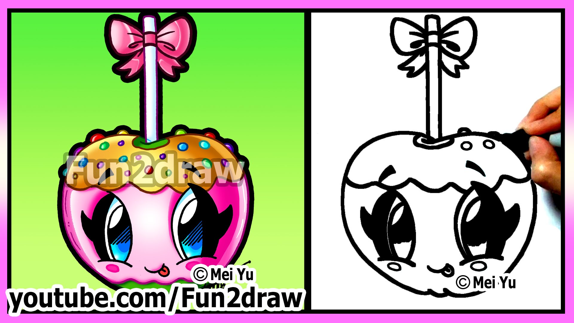 Shopkins Candy Apple Coloring Pages up colouring pages
