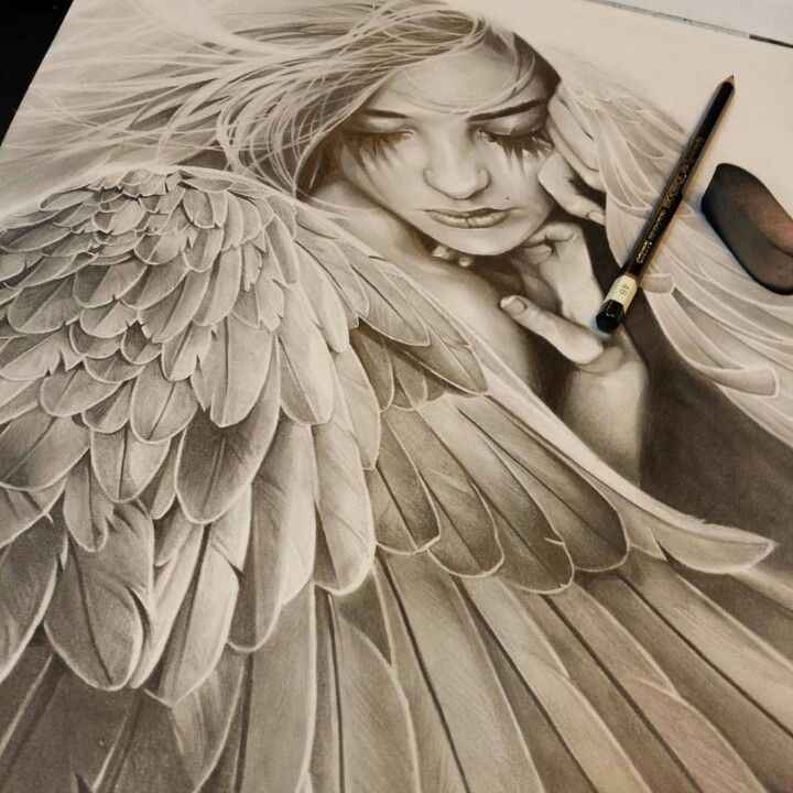 720x720 Angels Drawings
