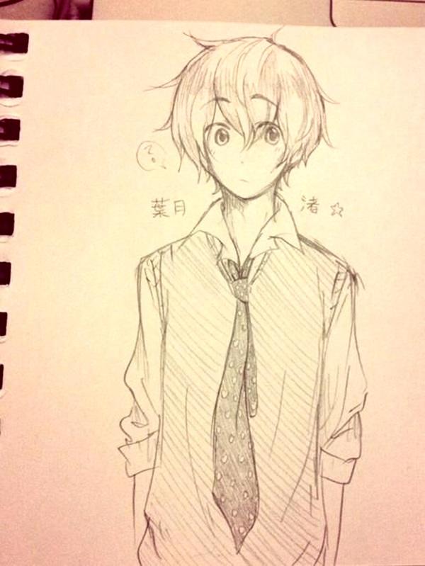 600x799 40 Amazing Anime Drawings And Manga Faces