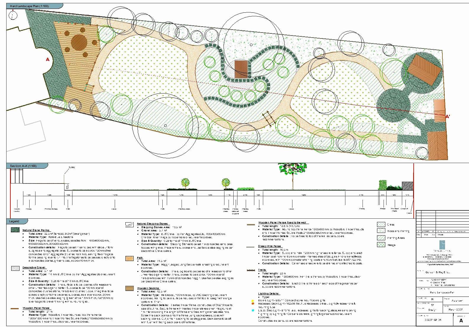1586x1105 Garden Plan Drawing Of Garden Masterplan And Detailed Design Tim