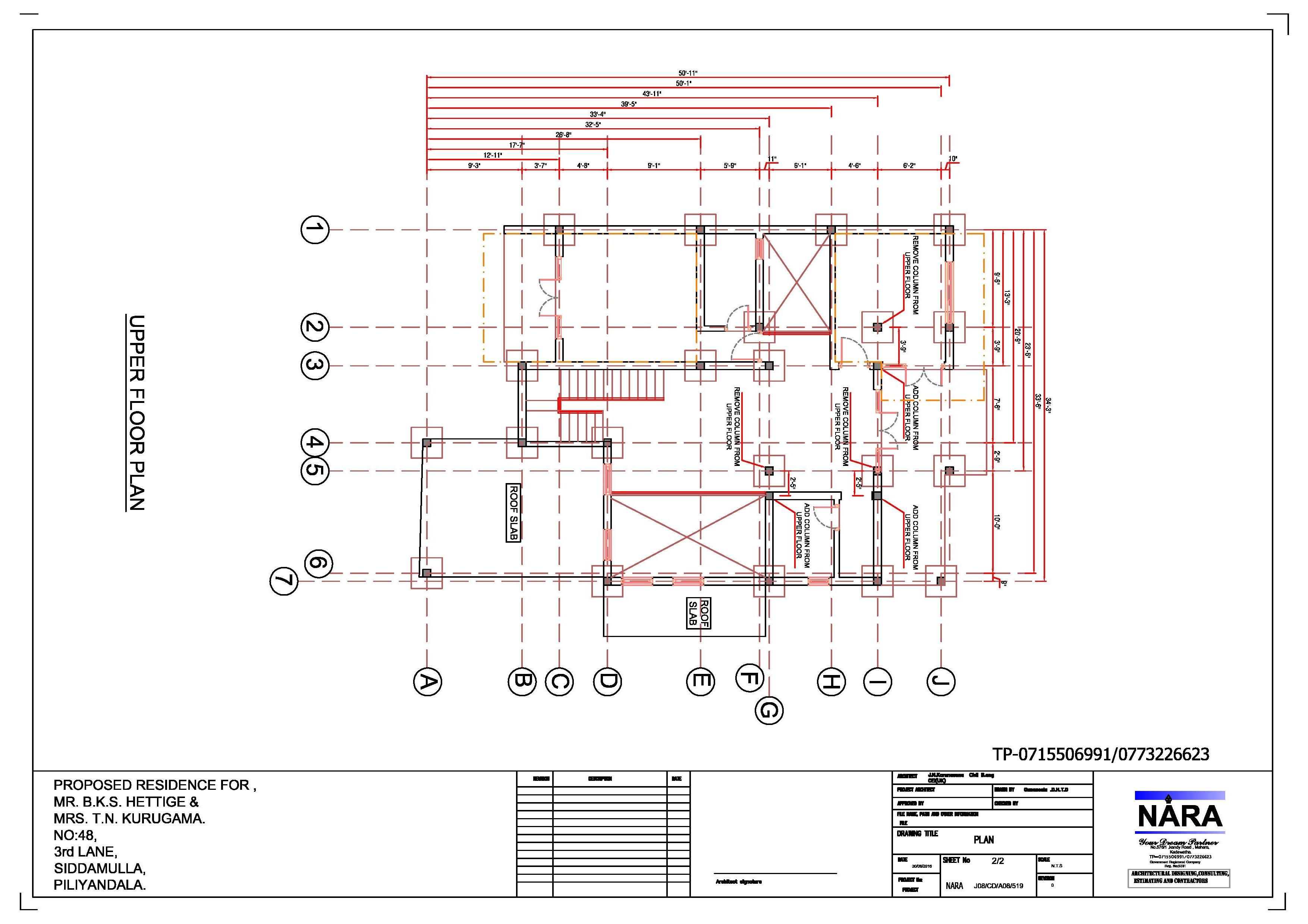 3508x2479 House Plan Sri Lanka Nara.lk House Best Construction Company
