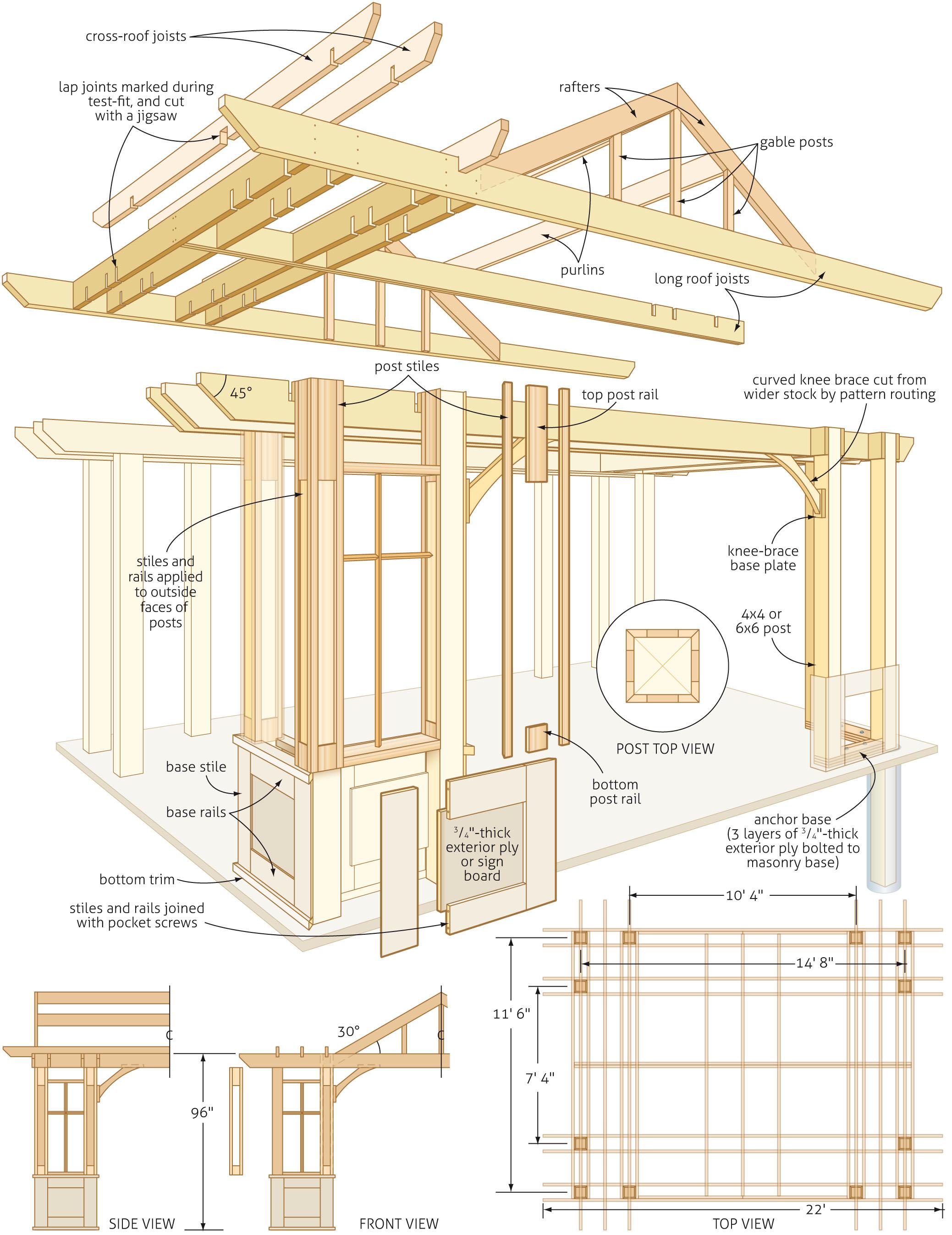 2077x2694 Pergola Design Ideas Pergola Design Plans More On Detailed