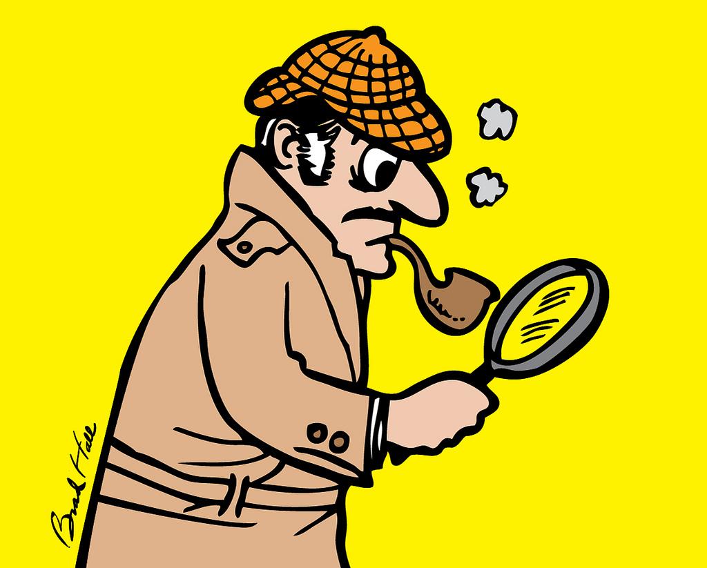 1024x823 Copyright Free Cartoon Drawing Of A Detective A Cartoon