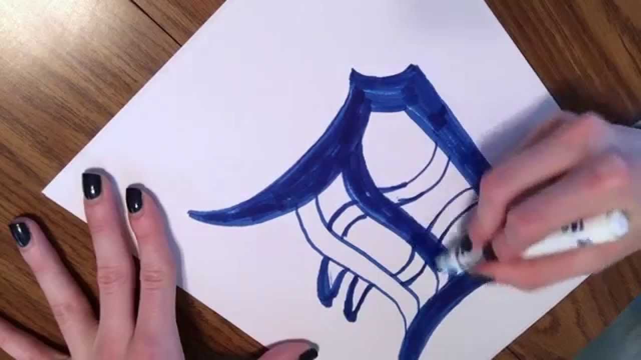 Detroit Tigers Drawing at GetDrawings.com | Free for personal use ...