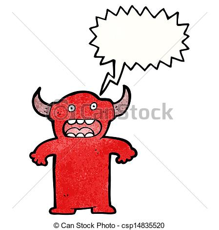 449x470 Cartoon Devil Vector Illustration