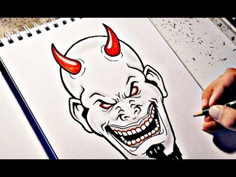 480x360 How To Draw A Devil