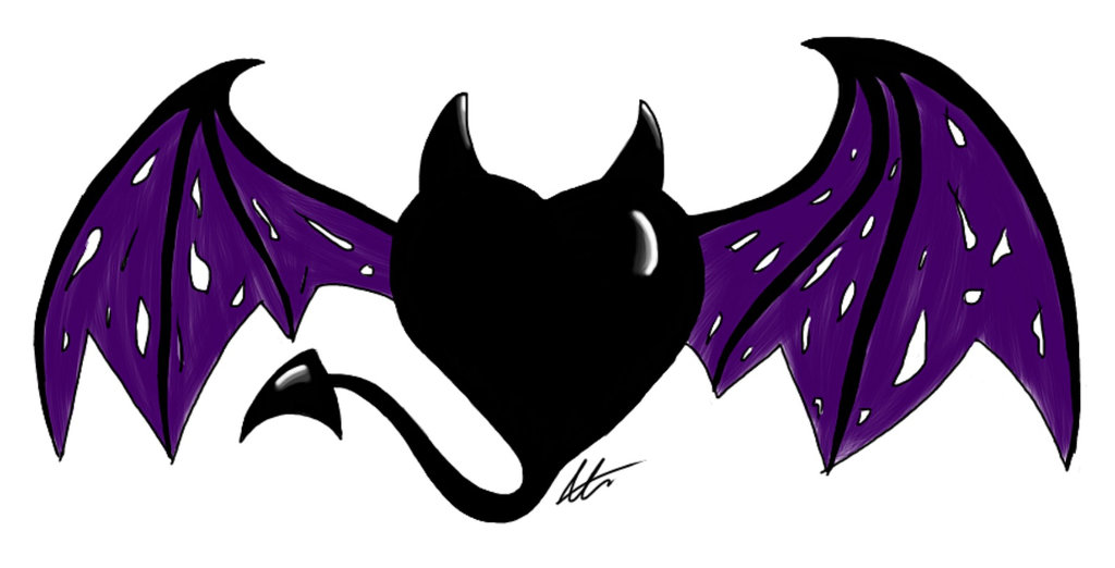 devil heart drawing at getdrawings com free for personal use devil